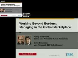 Building a Global Workforce