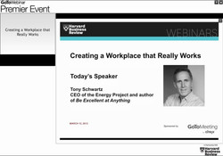 Creating a Workplace that Really Works