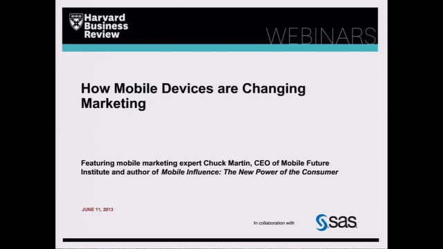 How Mobile Devices are Changing Marketing