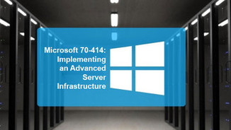 Cover of 70-414: Implementing an Advanced Server Infrastructure