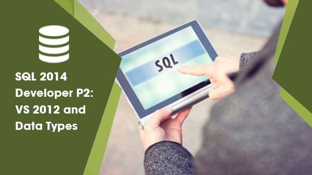 SQL 2014 Developer P2: VS 2012 and Data Types