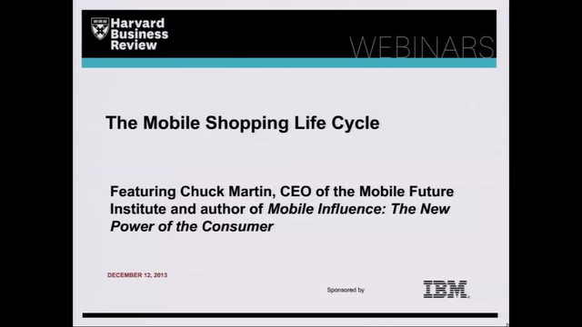 The Mobile Shopping Life Cycle