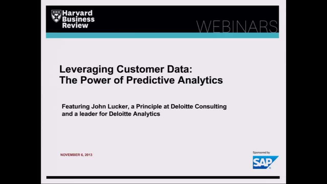 Leveraging Customer Analytics