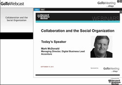 Collaboration and the Social Organization