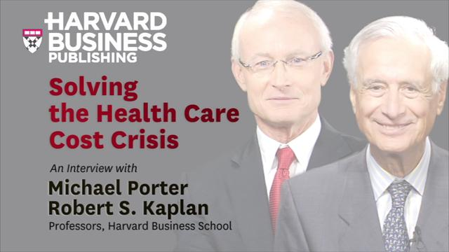 Solving the Health Care Cost Crisis
