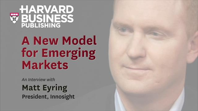 A New Model for Emerging Markets