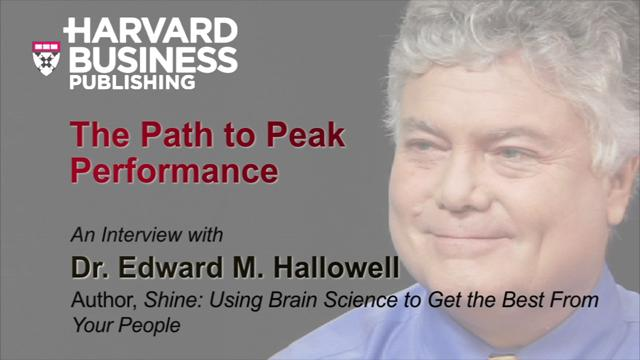 The Path to Peak Performance