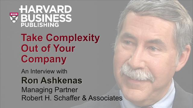Take Complexity Out of Your Company
