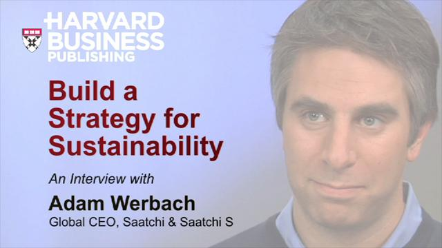 Build a Strategy for Sustainability