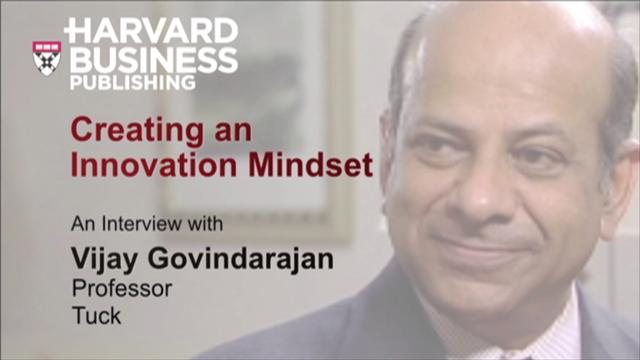 Creating an Innovation Mindset