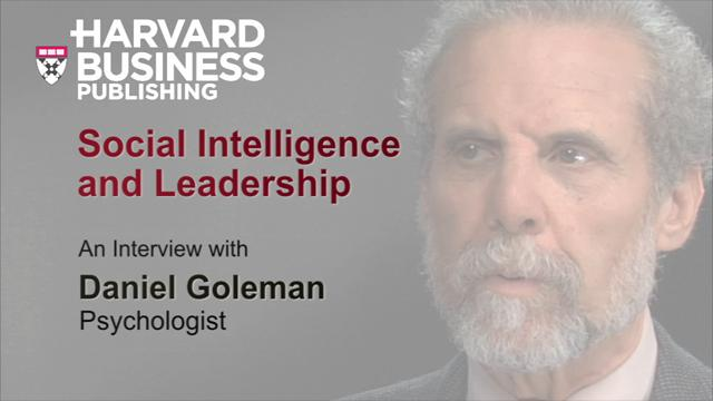 Social Intelligence and Leadership