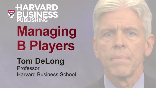 Managing B Players