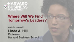 Where Will We Find Tomorrow's Leaders?