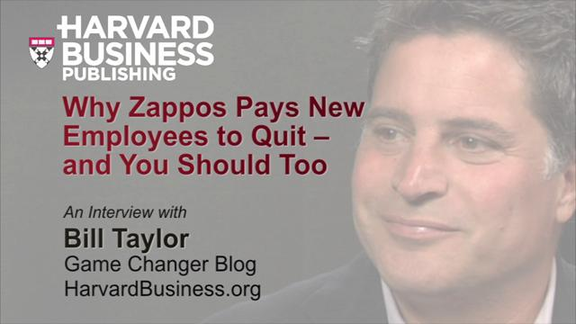 Why Zappos Pays New Employees to Quit--And You Should Too