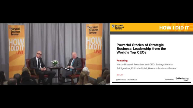 Powerful Stories of Strategic Business Leadership from the World's Top CEOs (Bizzarri)