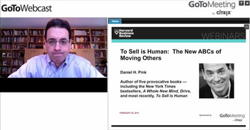 Cover of To Sell is Human: The New ABCs of Moving Others