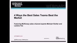 4 Ways the Best Sales Teams Beat the Market