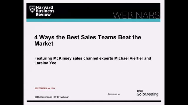 4 Ways the Best Sales Teams Beat the Market