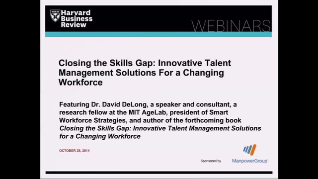 Closing the Skills Gap: Innovative Talent Management Solutions For a Changing Workforce