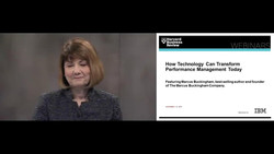 How Technology Can Transform Performance Management Today