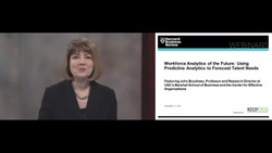 Workforce Analytics of the Future - Using Predictive Analytics to Forecast Talent Needs