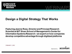Design a Digital Strategy That Works
