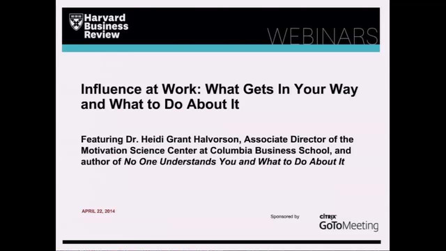Influence at Work: What Gets In Your Way and What to Do About It
