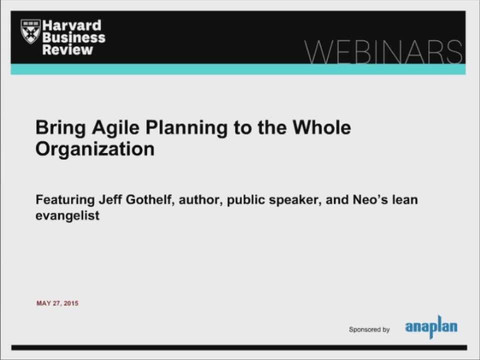 Bring Agile Planning to the Whole Organization