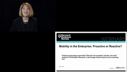 Mobility in the Enterprise: Proactive or Reactive?