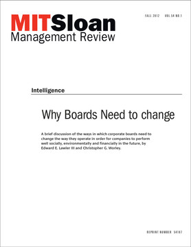 Why Boards Need to Change
