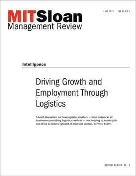 Driving Growth and Employment Through Logistics