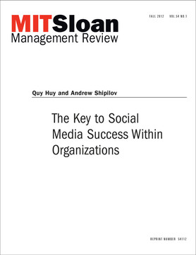 The Key to Social Media Success Within Organizations