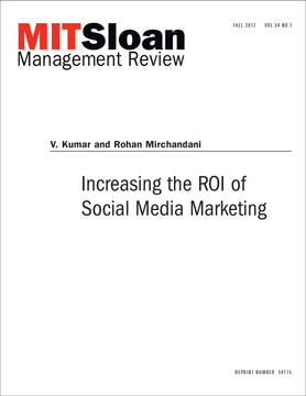 Increasing the ROI of Social Media Marketing