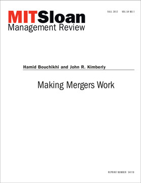 Making Mergers Work