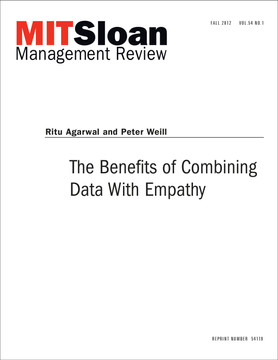 The Benefits of Combining Data With Empathy