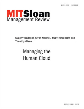 Managing the Human Cloud