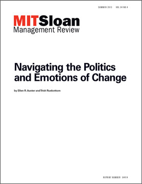 Navigating the Politics and Emotions of Change