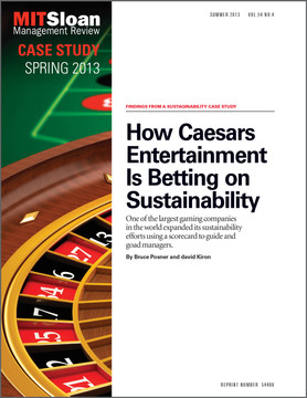 How Caesars Entertainment Is Betting on Sustainability