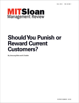 Should You Punish or Reward Current Customers?