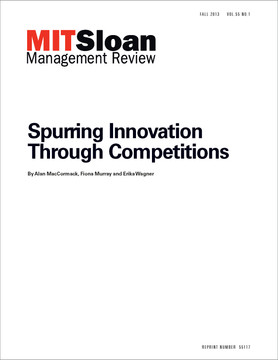 Spurring Innovation Through Competitions