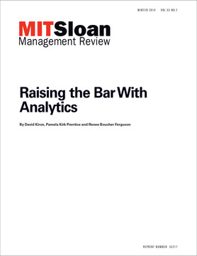 Raising the Bar With Analytics