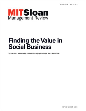 Finding the Value in Social Business