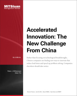 Accelerated Innovation: The New Challenge From China