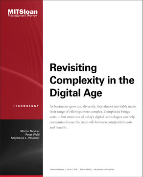Revisiting Complexity in the Digital Age