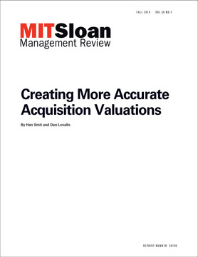 Creating More Accurate Acquisition Valuations