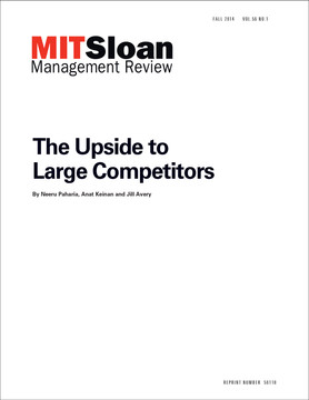The Upside to Large Competitors