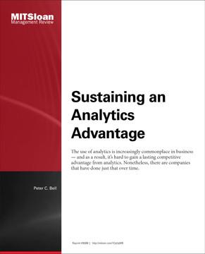 Sustaining an Analytics Advantage