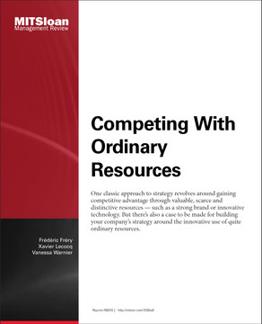 Competing With Ordinary Resources