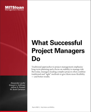 What Successful Project Managers Do