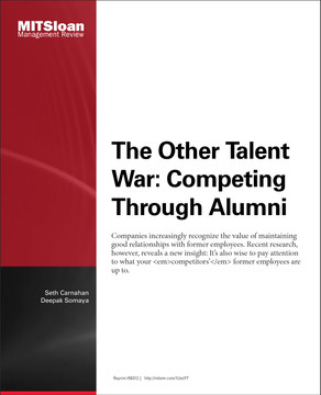 The Other Talent War: Competing through Alumni